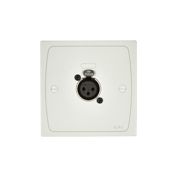XLR-F1W XLR Input Module - White - Female