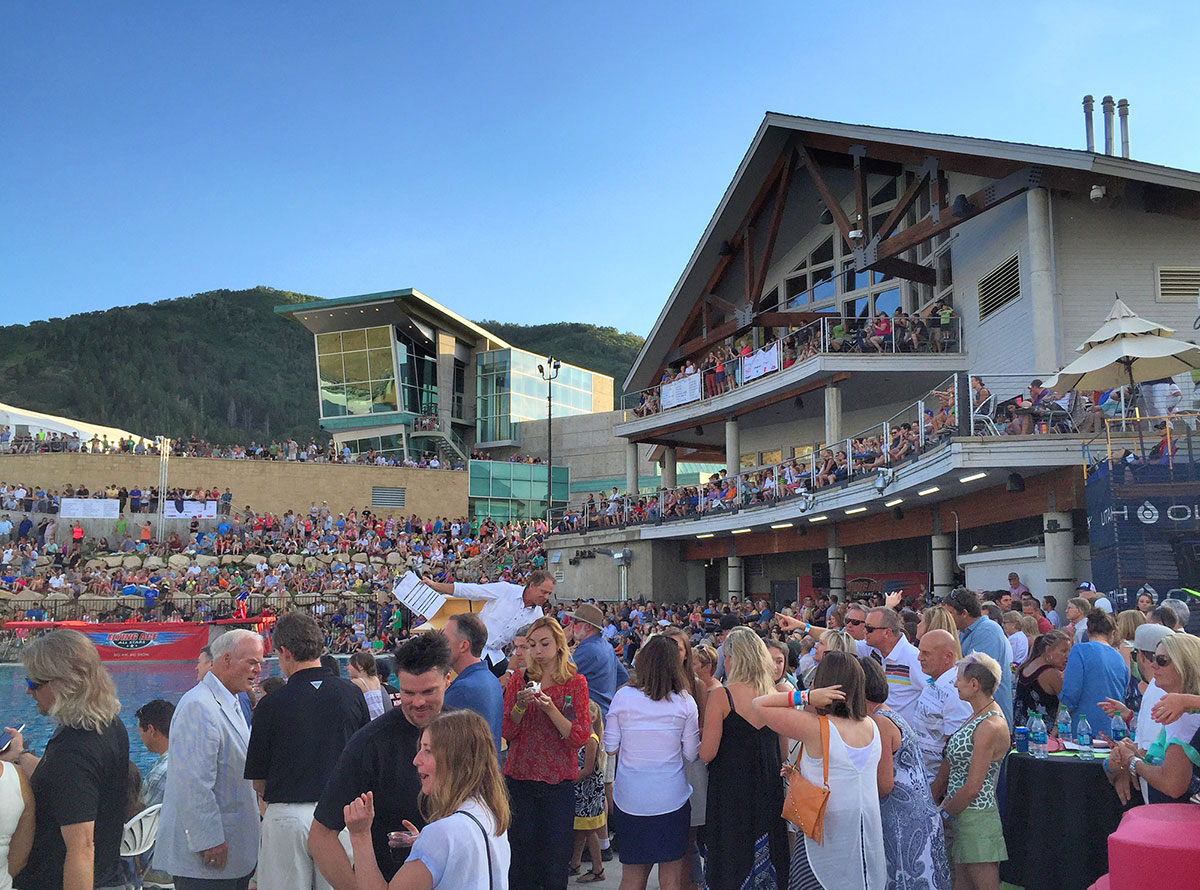 Olympic Park, Utah - Re-opens for the Summer with Cloud Zone Mixer