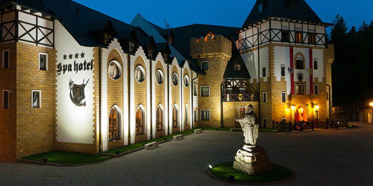 Luzec Chateau Spa Hotel, Karlovy Vary, Czech Republic