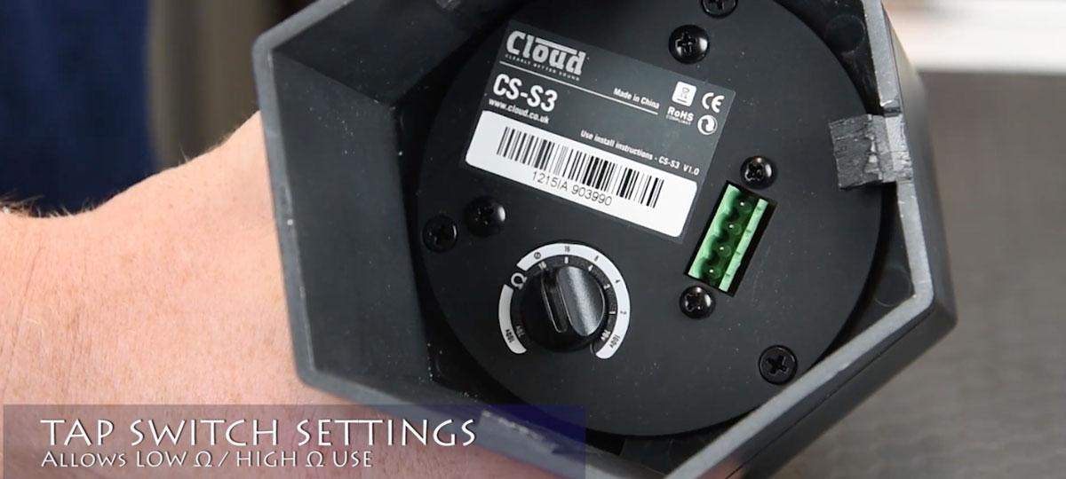 Clarity review CS-S3 Speaker Installation