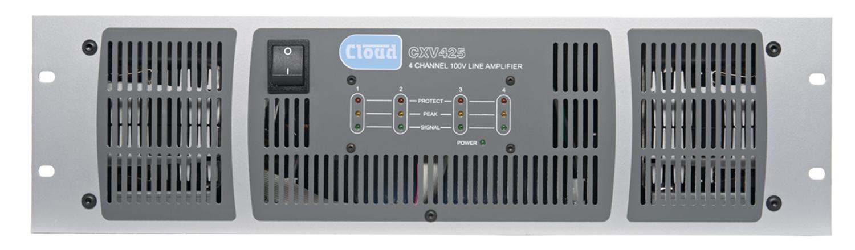 CXV425 4 x 250W 100V Line Amplifier