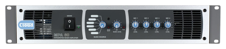 MPA60 60W Mixer/Amplifier