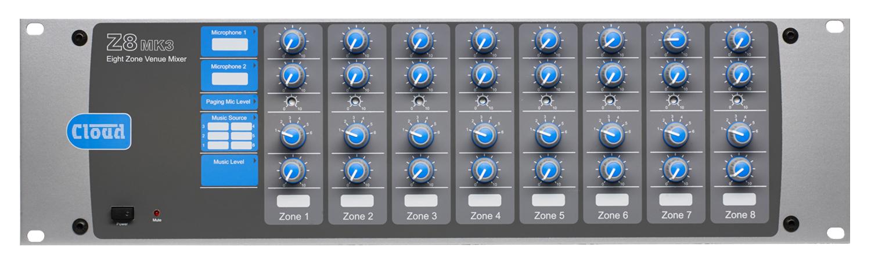 Z8MK3 8 Zone Mixer