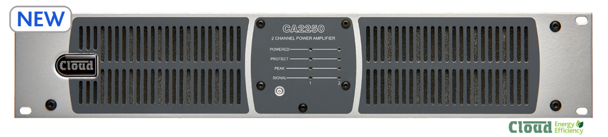 CA2250 2 Channel Amplifier  250w Per Output Channel