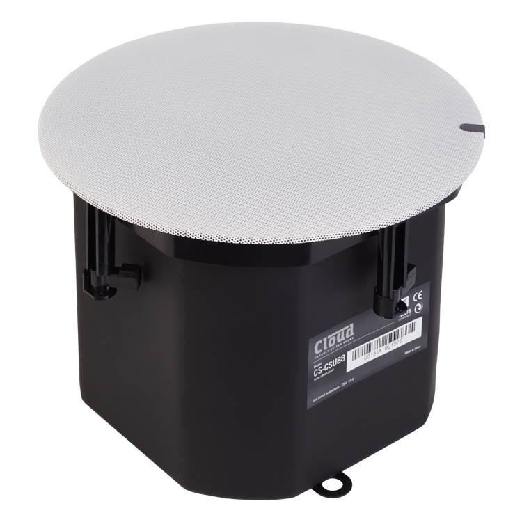 CS-CSUB8W & CS-CSUB8B In Ceiling Subwoofer Speaker