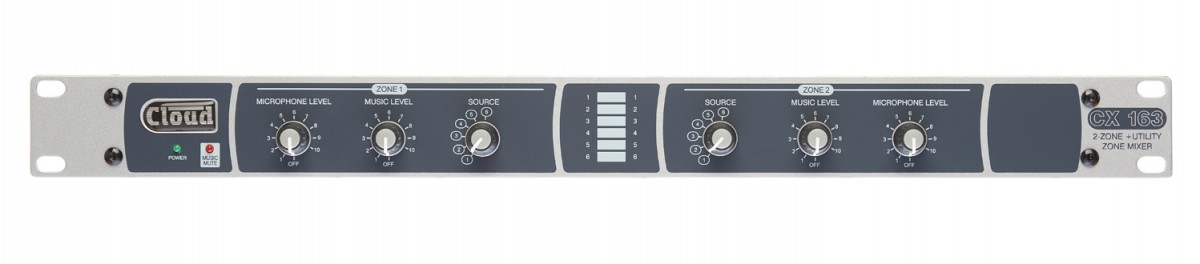 CX163 2 Zone + Utility Zone Mixer