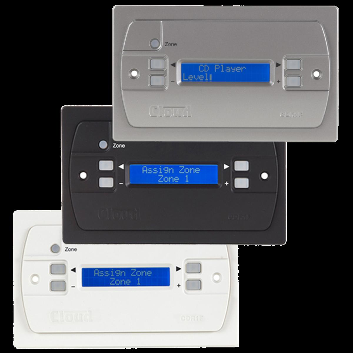 CDR-1FW & CDR-1FB & CDR-1FS Flush Mount Remote for DCM-1 / DCM1e