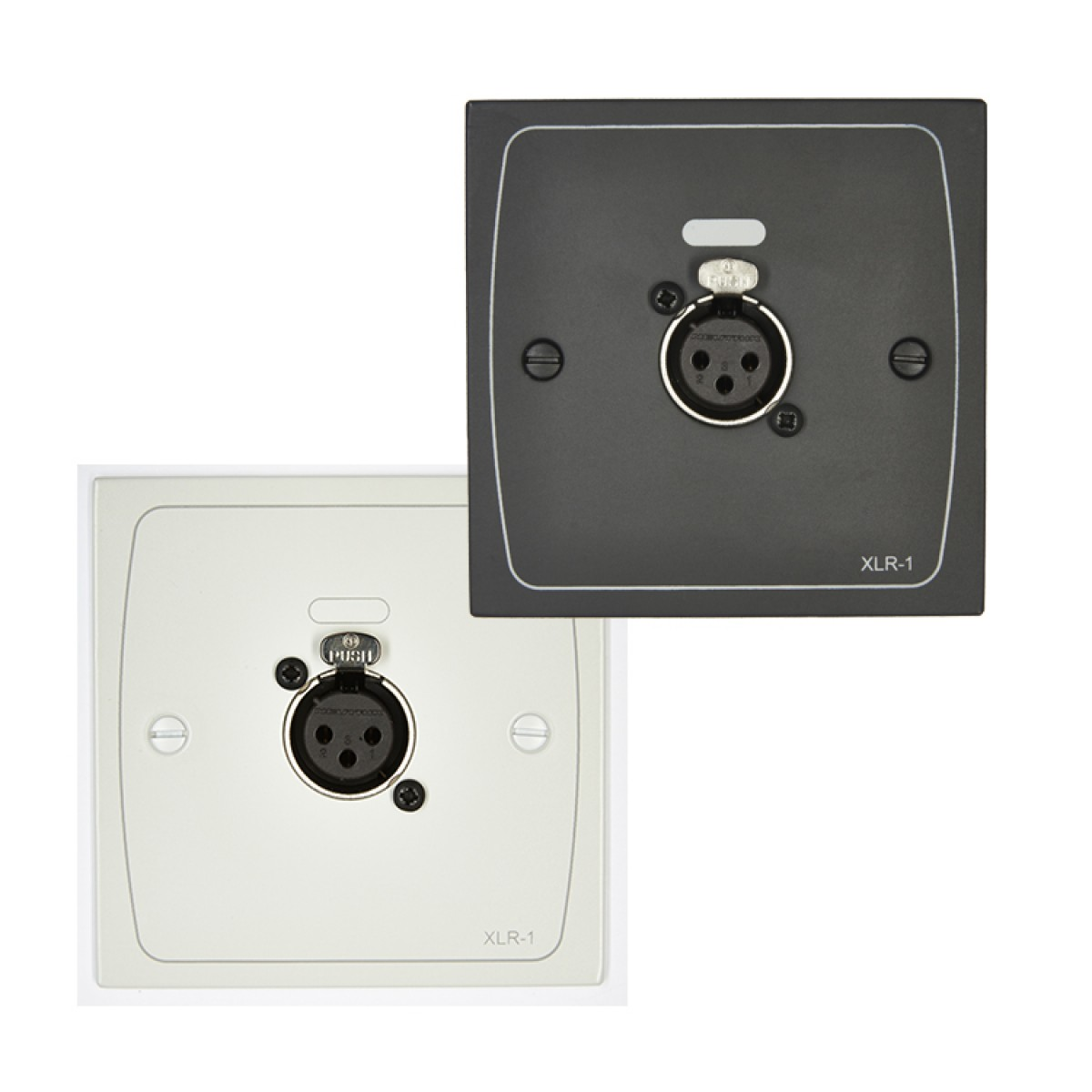XLR-F1W & XLR-F1B XLR Input Module - White / Black - Female